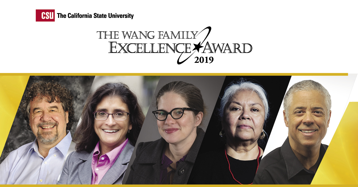 63e95c8afc6 ... The CSU will honor four faculty and one staff member with the  prestigious Wang Family Excellence Awards for their extraordinary  commitment to student ...