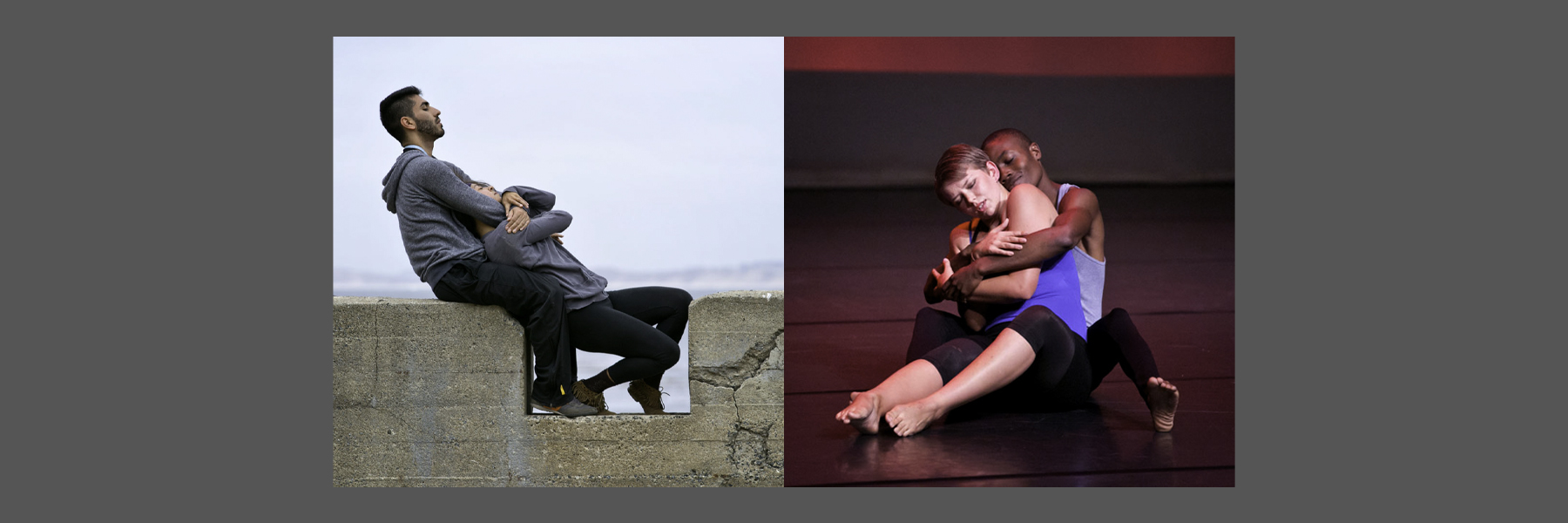 two sets of dancing couples in a pose