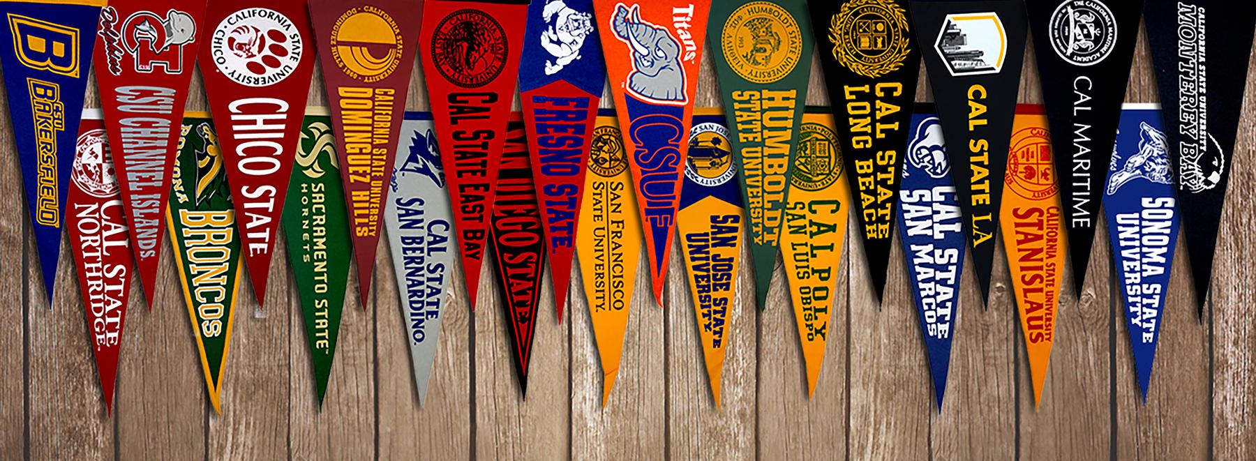 California State University Flags
