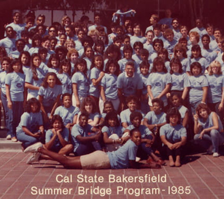 CSU Bakersfield Summer Bridge Program – 1985