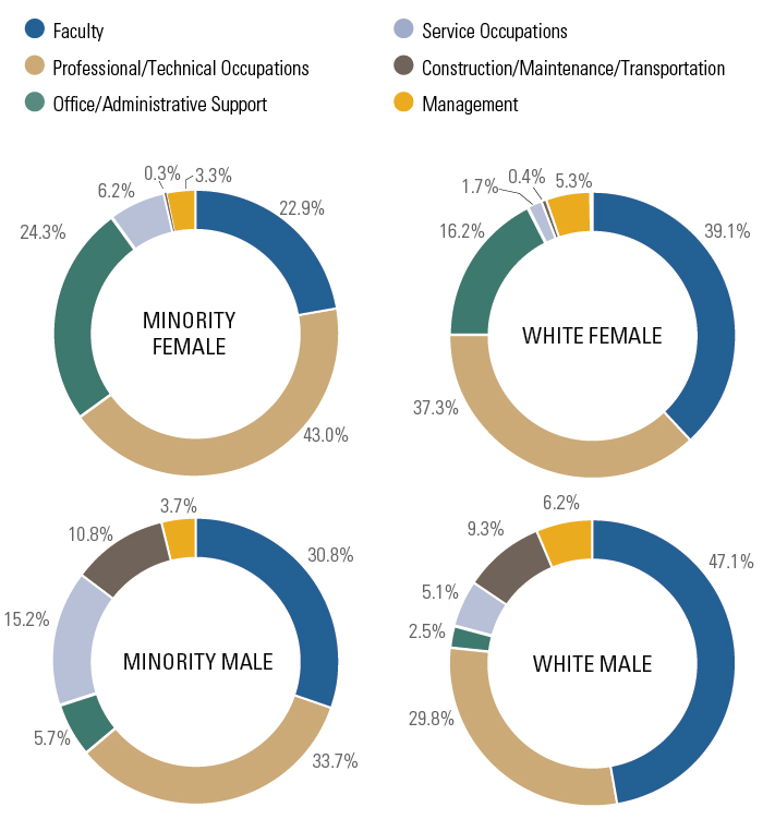 Full-Time Employee Headcount by Gender and Ethnicity