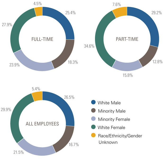 Employee Headcount by Gender and Ethnicity