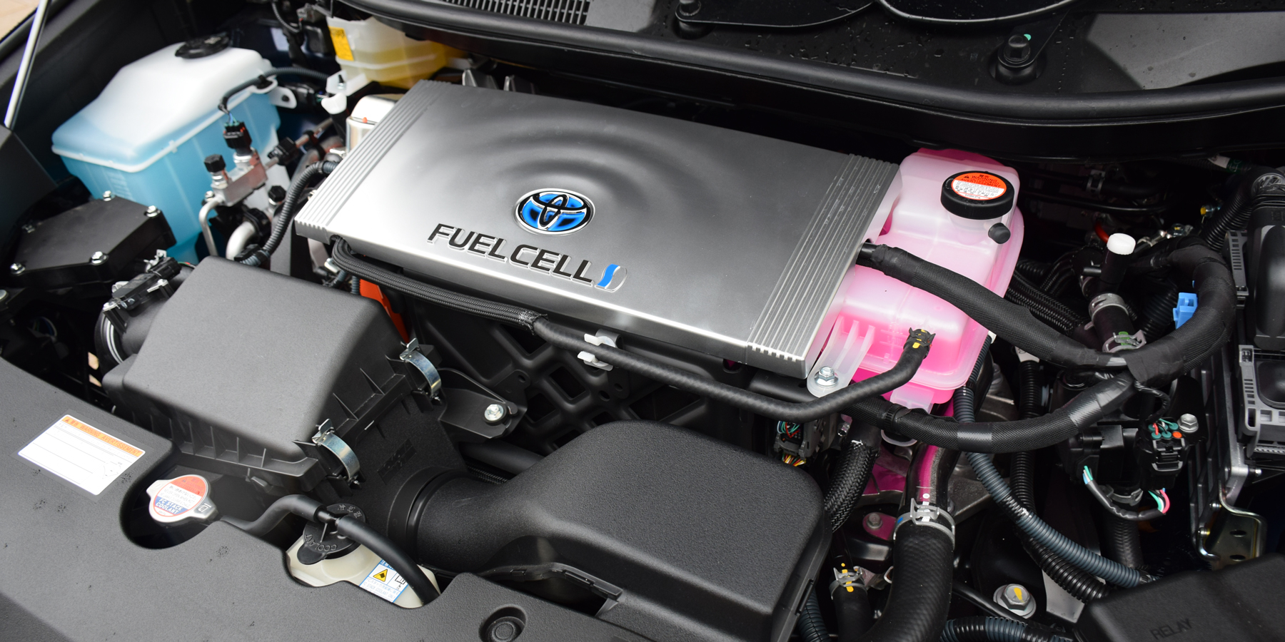 Hydrogen Fuel Cell under the hood