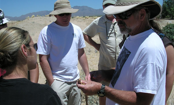 CSU Desert Studies Center Director William Presch gives students and scientists the opportunity to research the desert environme