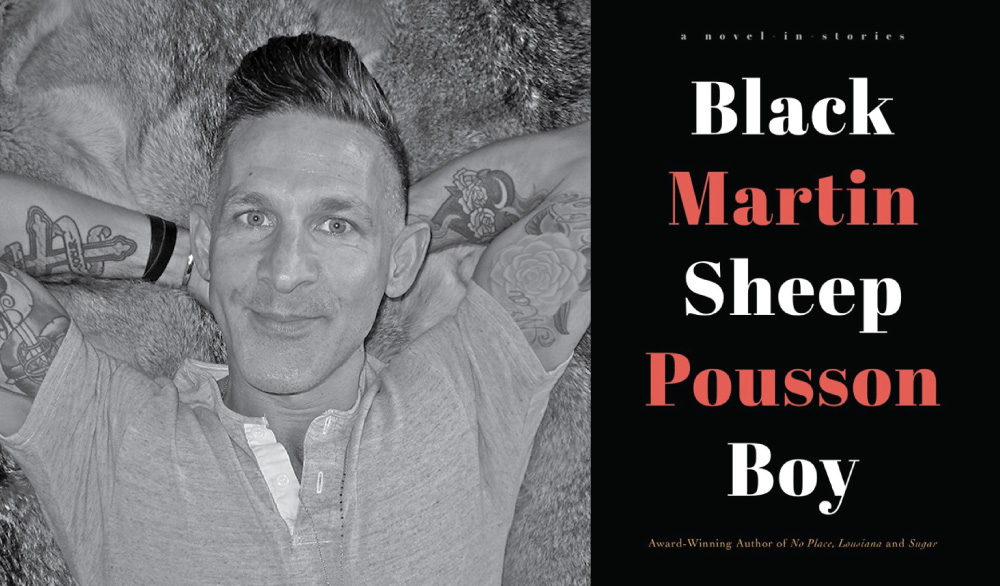 Martin Pousson Author of Black Sheep Boy