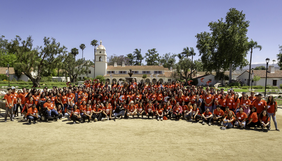 CSU Channel Islands has held Island View Orientation (IVO) for incoming freshmen and transfer students