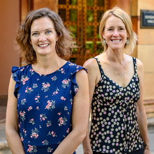Photo of Susan Roll, Ph.D. and Jennifer Wilking, Ph.D.