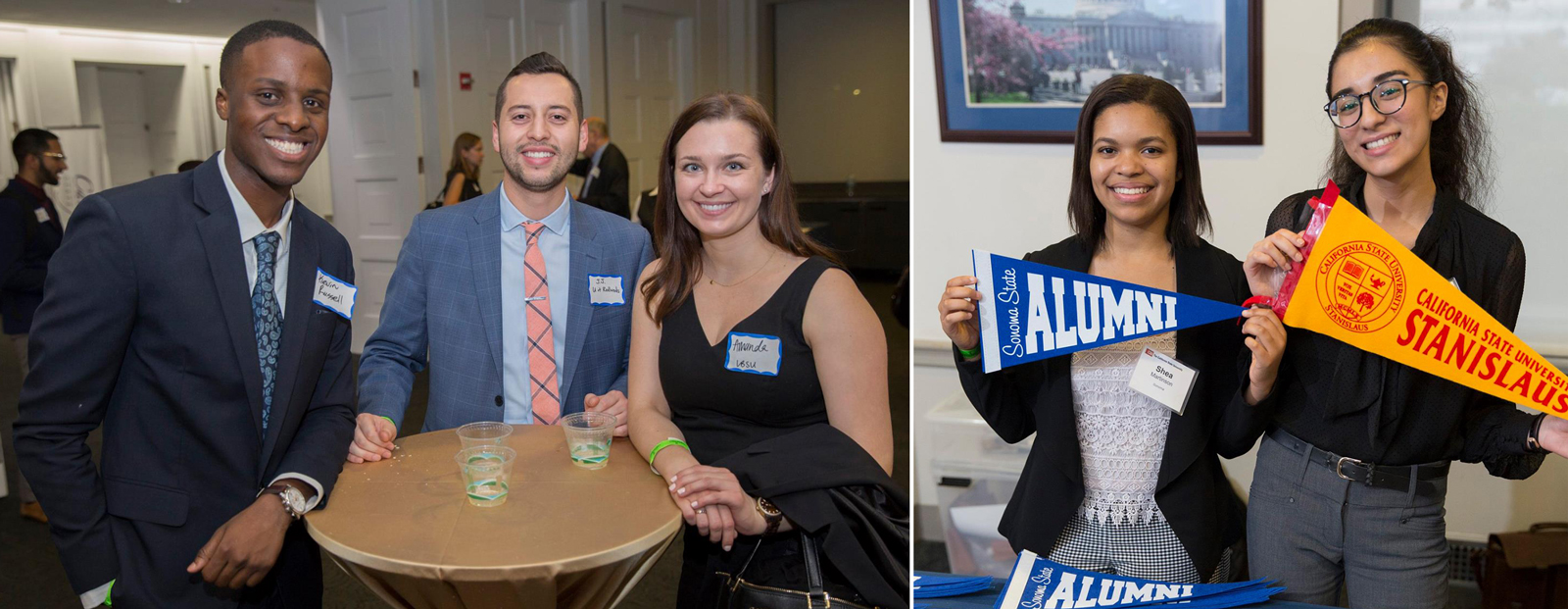 CSU students at Back to College Night – Washington, D.C
