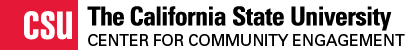 California State University Center for Community Engagement Wordmark
