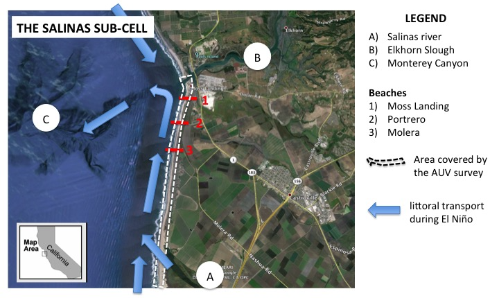 Map of sub-cell