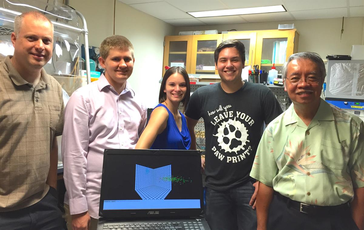 CSU San Bernardino Tetranucleotide Frequency viewer project team (Summer 2016)