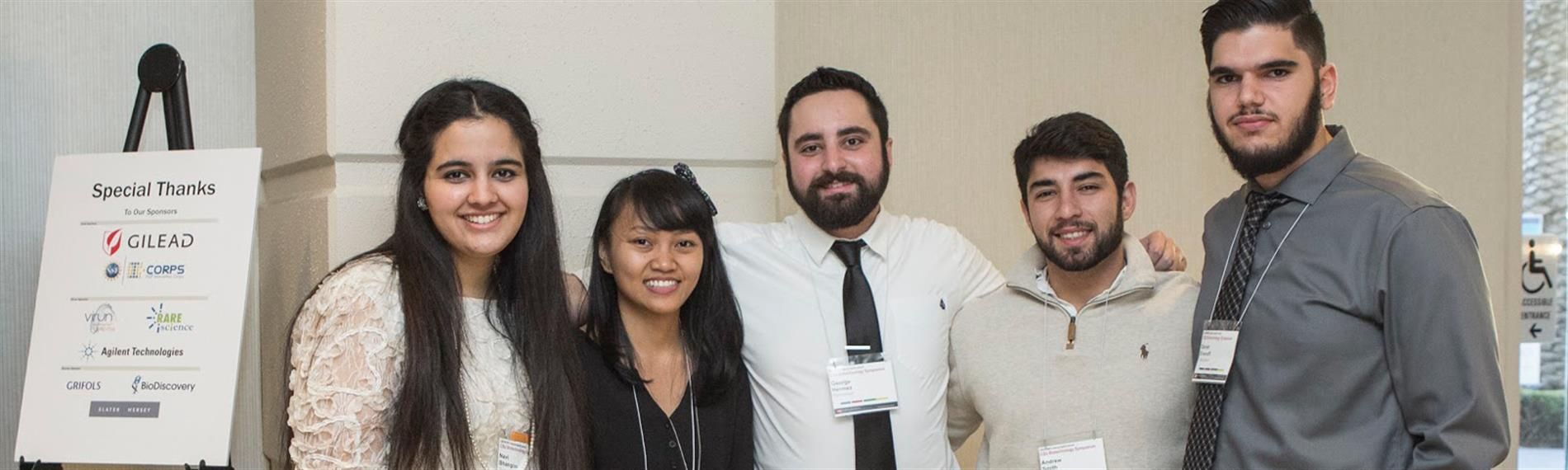 CSU Northridge students at the 2016 symposium