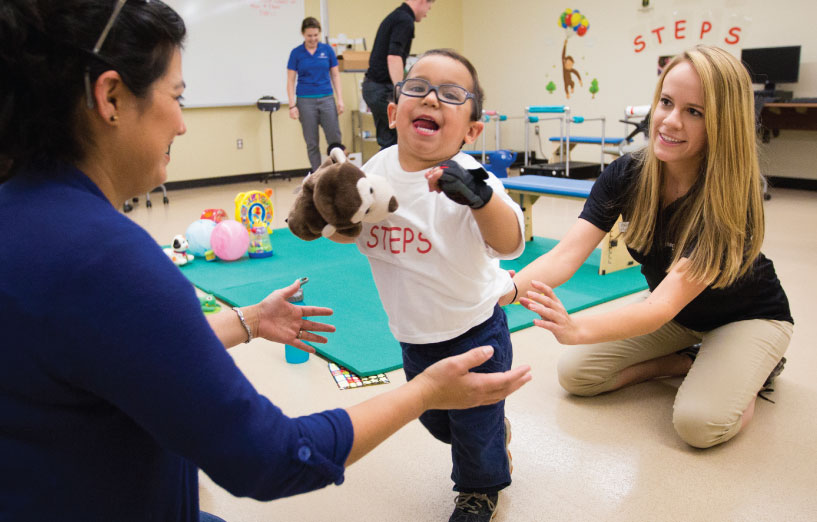 Helping Young Children With Cerebral Palsy Learn to Walk