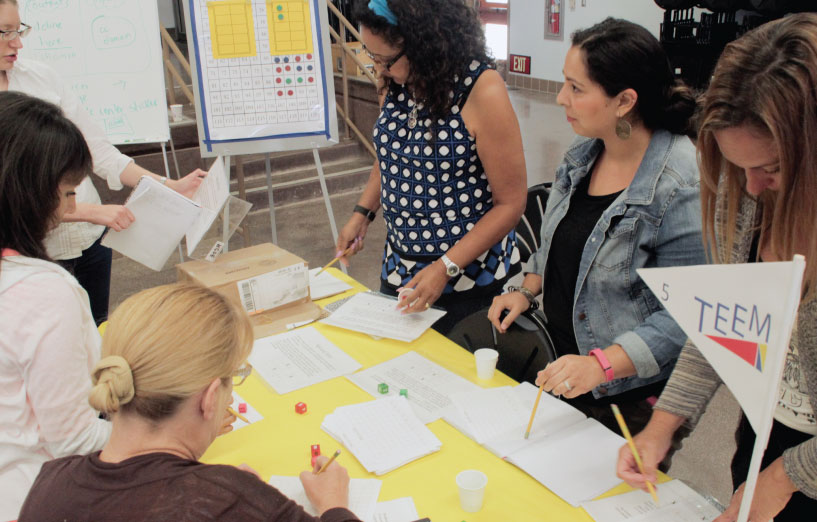 Teaming Up to Improve English Learners' Math Skills